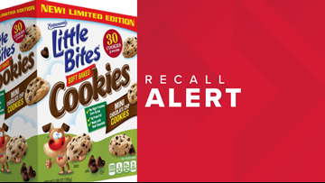 Recall issued for type of Entenmann's Little Bites mini cookies
