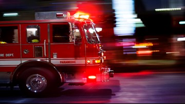"""Elderly couple saved in Lampasas home """"engulfed in fire"""""""