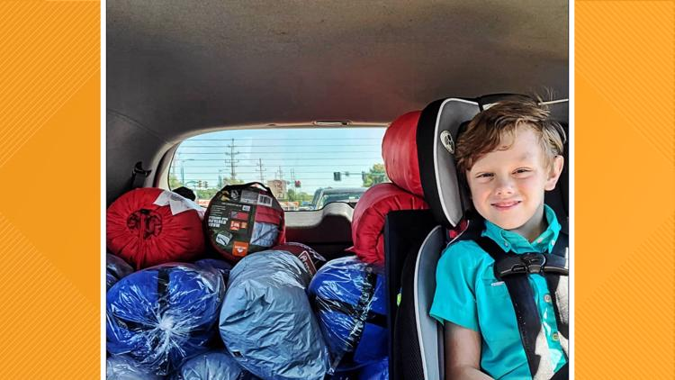 Kindness of strangers: How an 8-year-old Indiana boy is helping the homeless in his community