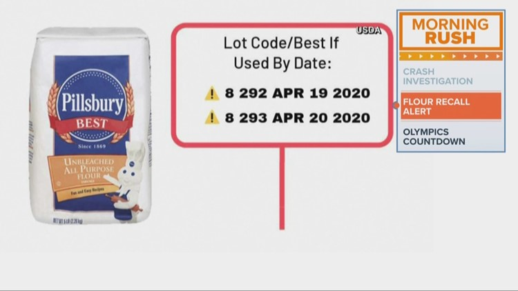Pillsbury flour recalled for possible health risk