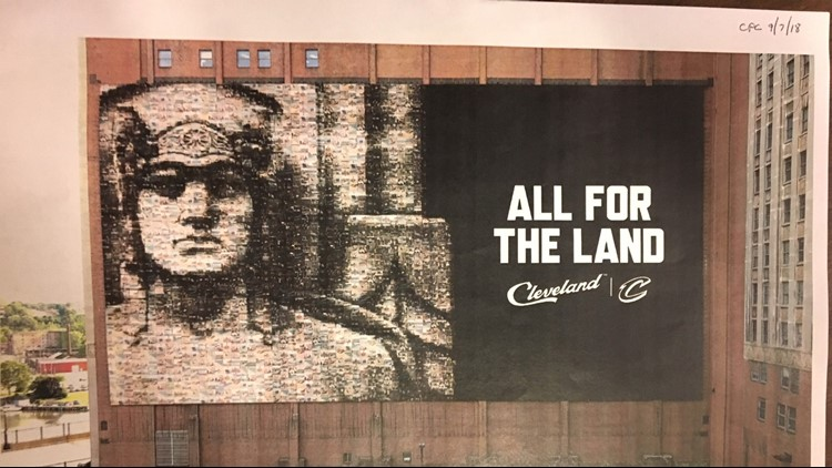 Here's how Cleveland Cavaliers fans can be part of the mosaic replacing the LeBron James banner