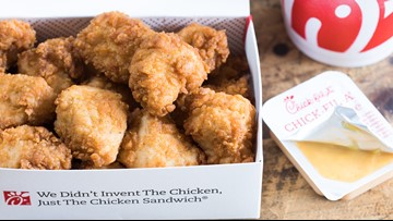 Chick-fil-A giving away free chicken nuggets all month