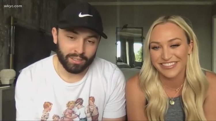 Cleveland Browns quarterback Baker Mayfield and wife, Emily, report possible UFO sighting in Texas