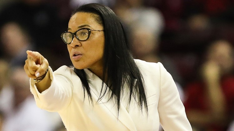 Dawn Staley sued the head of Missouri's athletics department after he claimed she created an atmosphere that led to his players being verbally assaulted.