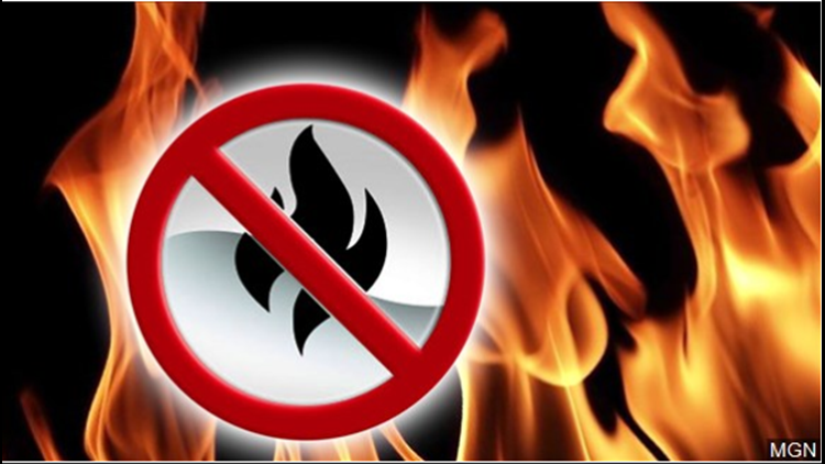 Burn ban in effect for unincorporated areas of McLennan County