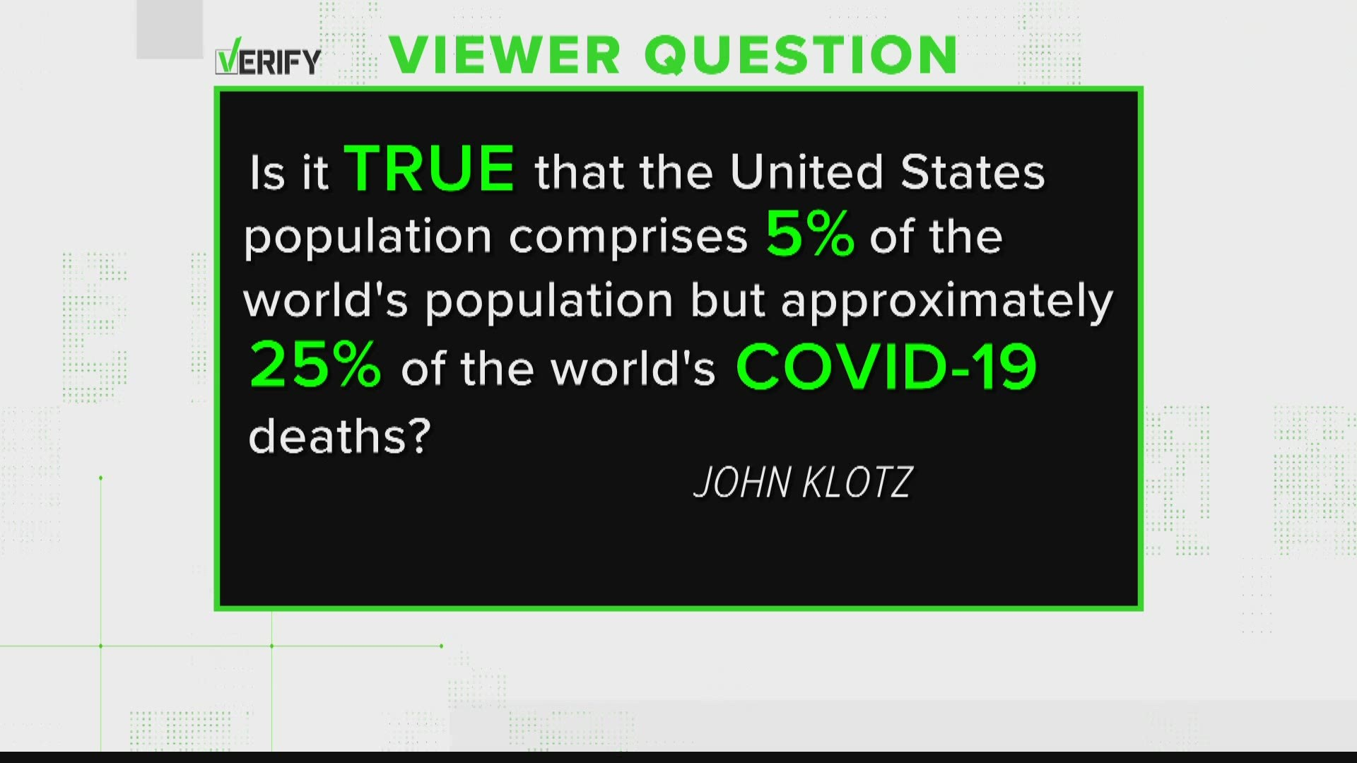 Verify No The Cdc Did Not Say The Number Of Covid 19 Victims Who Actually Died From The Virus Is Much Lower Than Originally Reported Kcentv Com