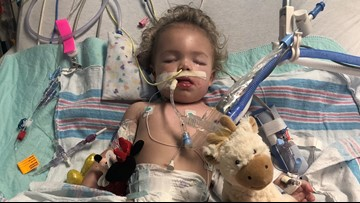 Baby suddenly paralyzed after trip to Florida beach