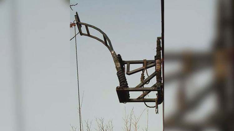 Border Patrol agents find drug catapult at US-Mexico border