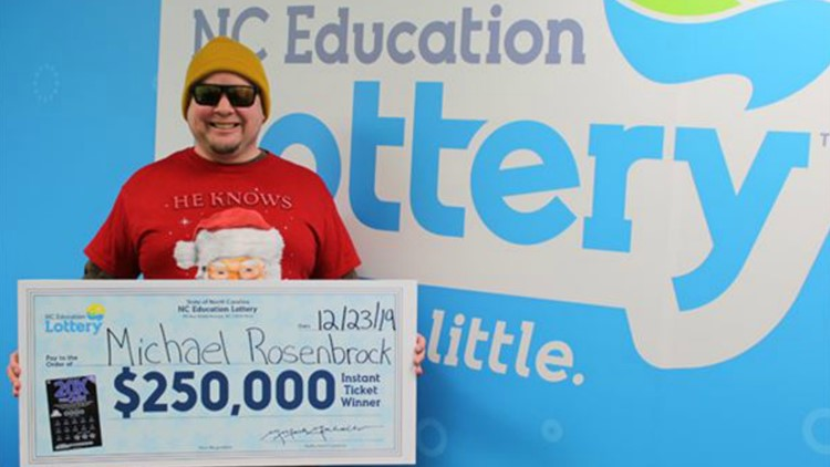 Man stops for Christmas groceries, wins $250,000 on scratch-off ticket