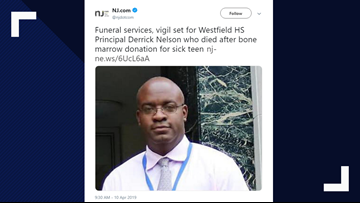 Principal falls into coma, dies after bone marrow donation