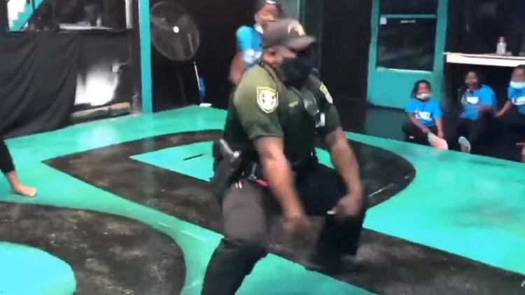 Florida deputy turns noise complaint call into uplifting dance battle