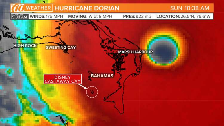 disney castaway cay and hurricane dorian 090119