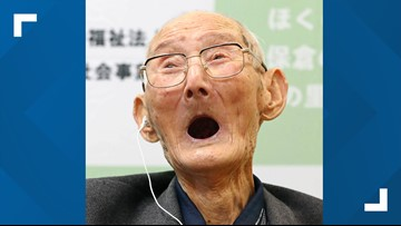 Guinness World Records: Japanese man who believes in smiling is world's oldest man