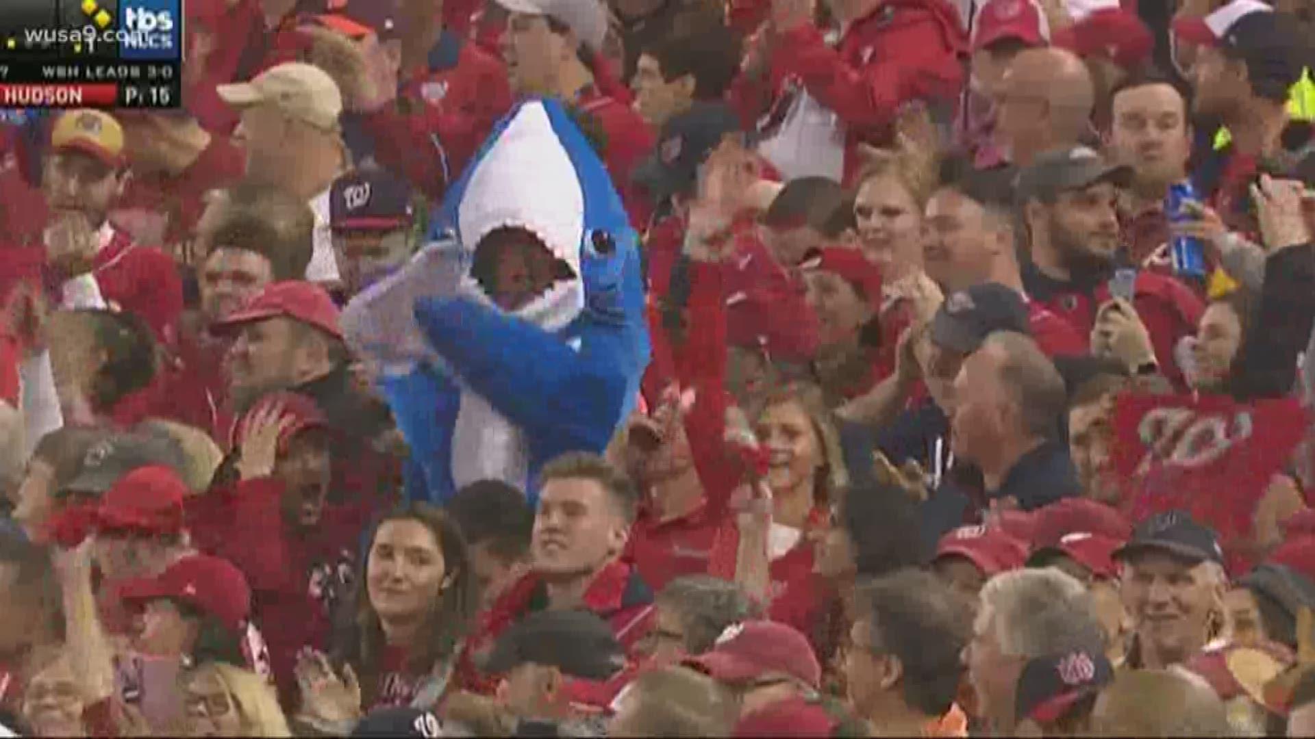 Why do the Washington Nationals sing baby shark? | kcentv.com