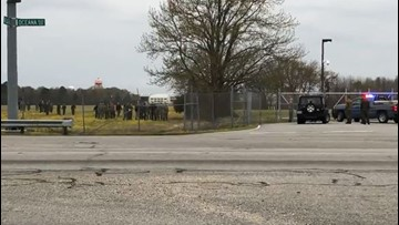 Officials: Shooter killed in domestic dispute incident at Naval Air Station Oceana