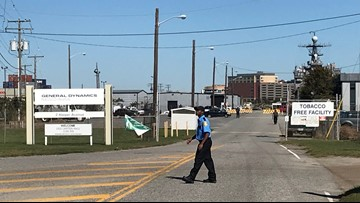 UPDATE: No evidence of shooter at General Dynamics shipyard