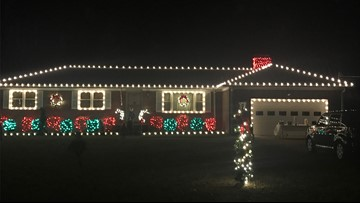 Volunteers help to light up spirit, home of Norfolk police officer's family