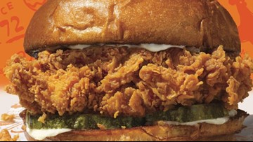 Popeyes' hit chicken sandwich is back!