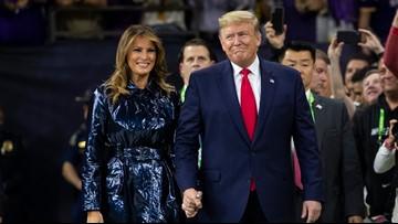 Pres. Trump draws big cheers at college football national championship game