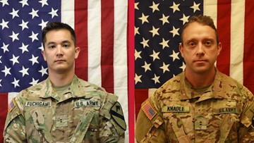 Fort Hood soldiers killed in Afghanistan chopper crash identified