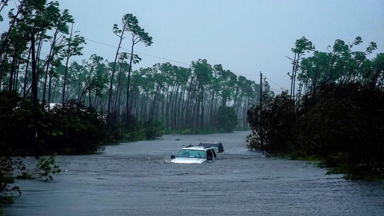 APTOPIX Bahamas Tropical Weather