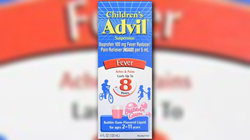 Children's Advil recalling one specific lot