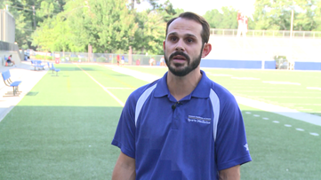 'I knew it was bad:' Athletic trainer reflects on crucial moments after McEachern player collapsed
