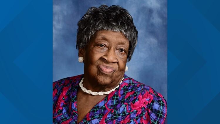 Happy 100th birthday, Mrs. Brown!