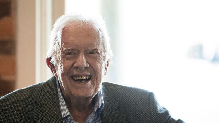 Jimmy Carter celebrates his 97th birthday today