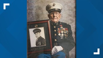 Alabama Marine celebrates 100th birthday